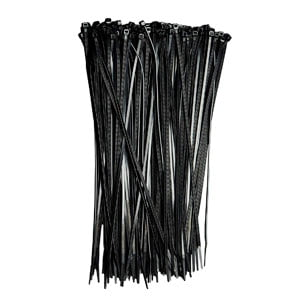 (1,000-Pack), 40lb Strength Black Nylon