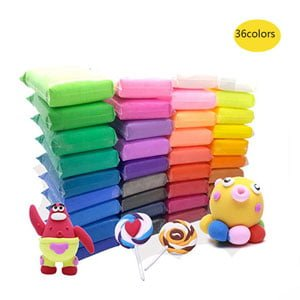 36 PCS Colorful Soft Clay