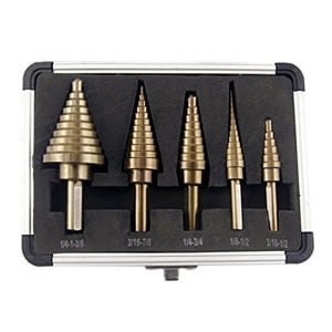 5pcs Hss Set with Aluminum Case