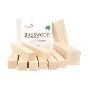 Basswood Carving/Whittling for Kids or Adults