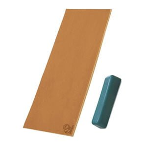 Double Sided Stropping Leather Polishing Compound