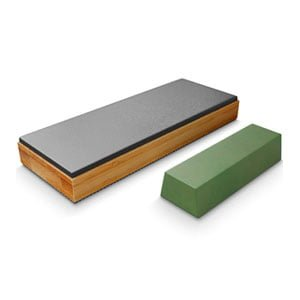 Leather Strop kit with Polishing Compound