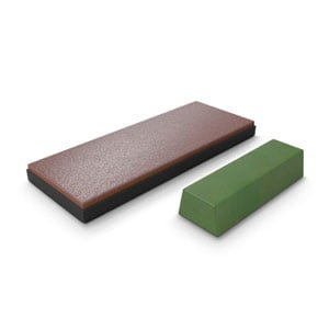 Premium Leather Strop with Polishing Compound