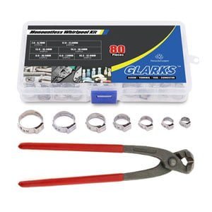 Stepless Clamps with Pincers Kit