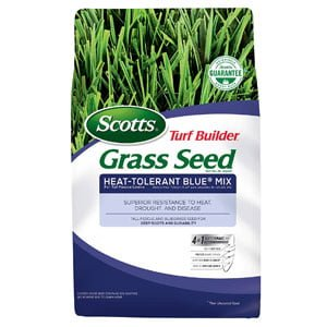Turf Builder Grass Seed Heat-Tolerant Blue Mix
