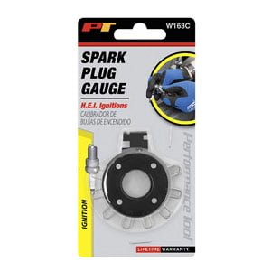 Wide Gap Wire Spark Plug and Gauge Tool